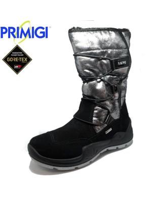 Primigi fekete-ezüst téli cipő