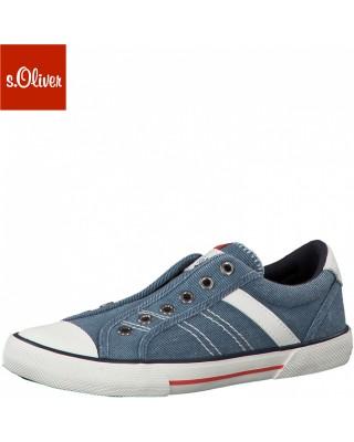 S.Oliver kék fiú cipő
