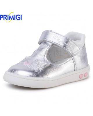 Primigi ezüst nyitott kiscipő