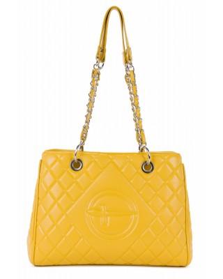 Aida sárga közepes shopper