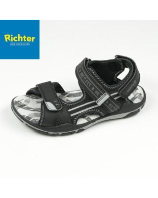 Richter fekete szandál