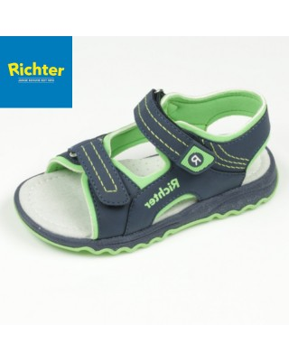 Richter sötétkék szandál