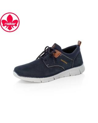 Rieker kék fűzős cipő