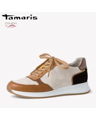 Tamaris barna bőr sportcipő