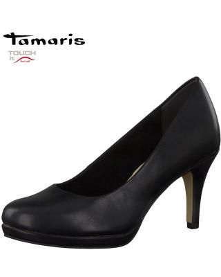 Tamaris fekete magassarkú cipő