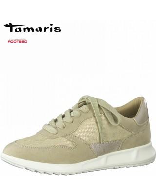 Tamaris bézs sportcipő