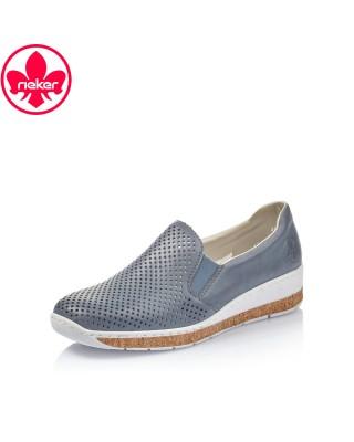Rieker farmerkék bebújós cipő