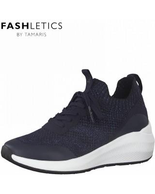 Tamaris metálkék sportcipő