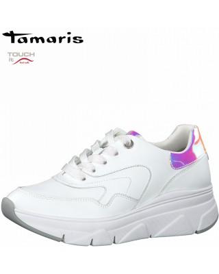 Tamaris fehér sportos cipő