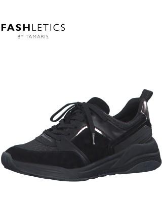 Tamaris fekete sportcipő