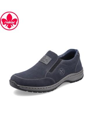 Rieker kék bebújós cipő