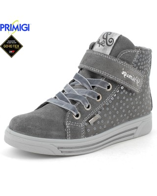 Primigi szürke magasszárú cipő