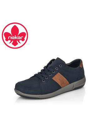 Rieker kék férfi fűzős cipő