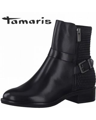 Tamaris fekete bokacsizma