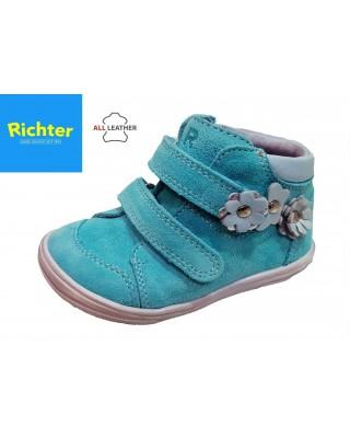 Richter türkiz tépőzáras kislány cipő