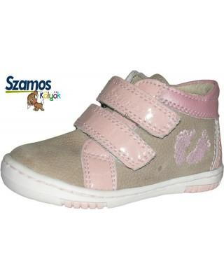 """Szamos kölyök """"első lépés"""" rózsaszín kiscipő"""