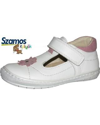 Szamos kölyök fehér nyitott cipő