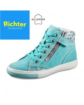 Richter mentazöld magasszárú cipő - Vitálos cipőbolt Szentendre e1711f1005