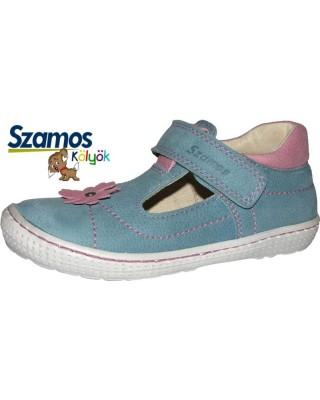 Szamos kölyök kék nyitott cipő