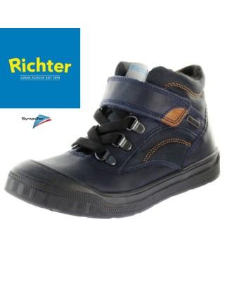 Richter kék bélelt vízálló cipő