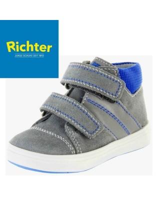 Richter szürke tépőzáras kisfiú cipő