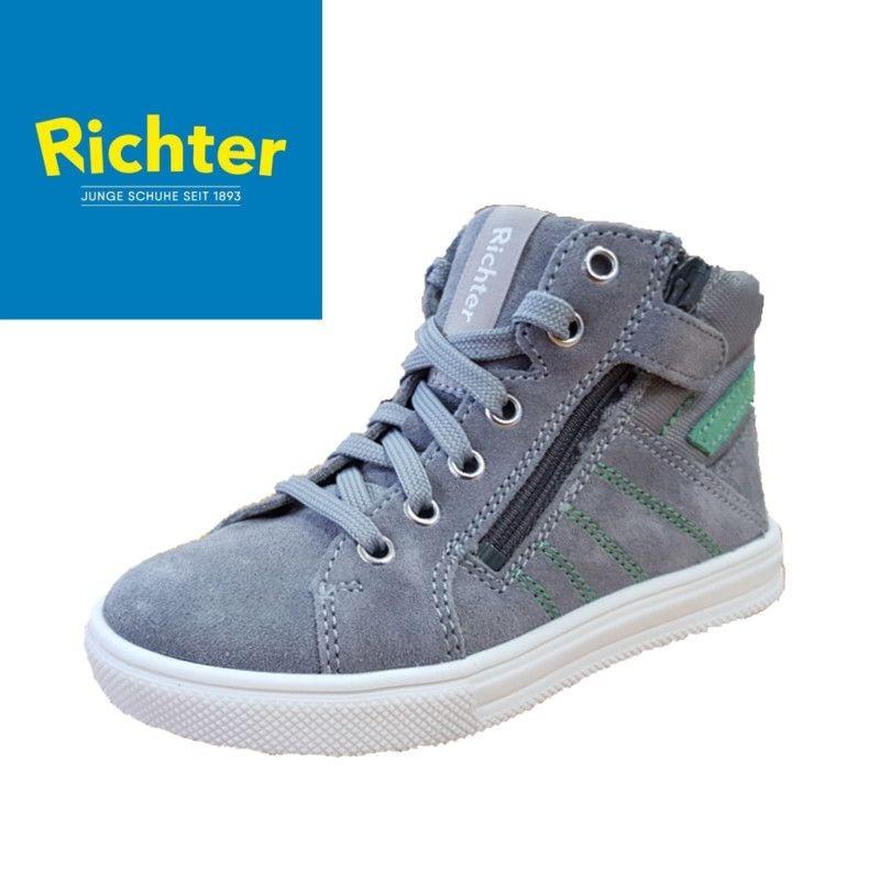Richter szürke magasszárú cipő - Vitálos cipőbolt Szentendre 7aa7d0bc8b