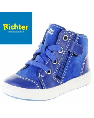 Richter kék cipáras kisfiú cipő