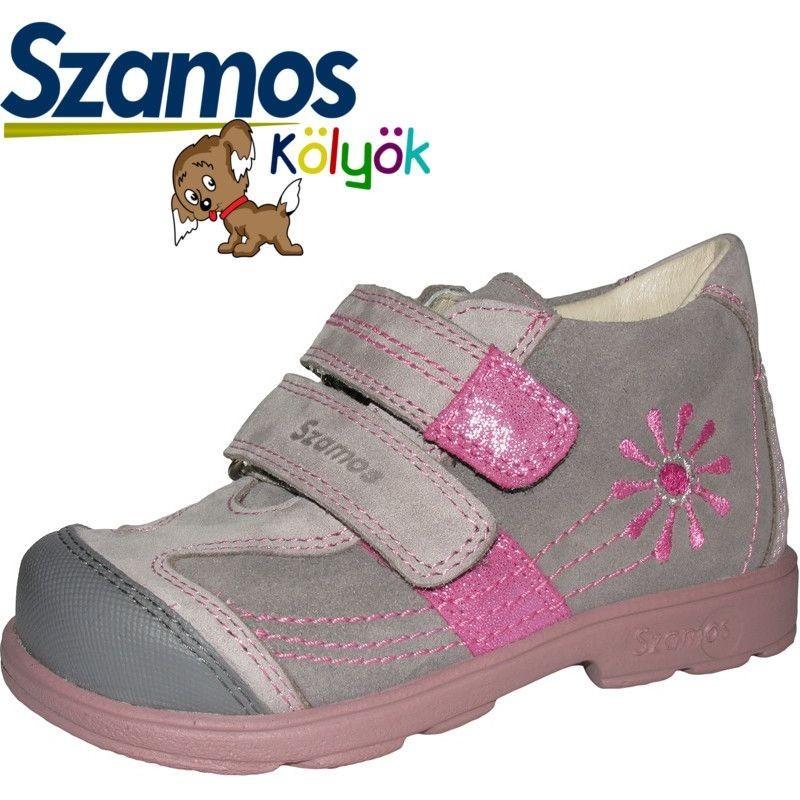 Szamos kölyök SUPINÁLT szürke cipő