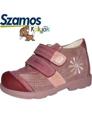 Szamos kölyök SUPINÁLT mályva színű cipő