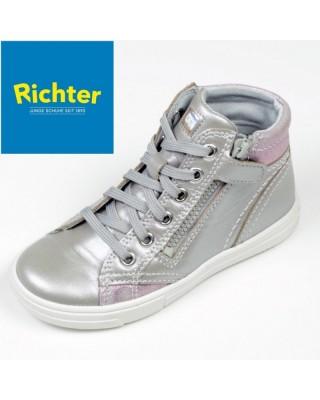 Richter ezüst színű magasszárú cipő