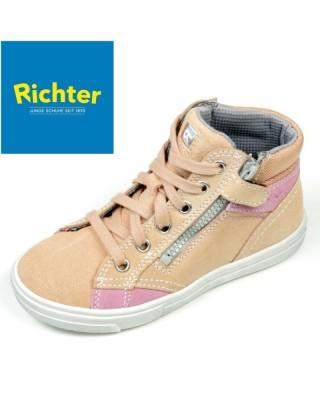 Richter bézs magasszárú cipő