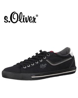 S.Oliver fekete vászon...