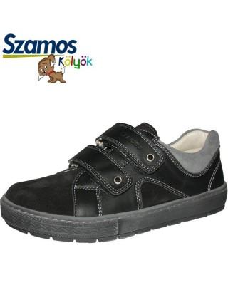 Szamos kölyök fekete-szürke cipő