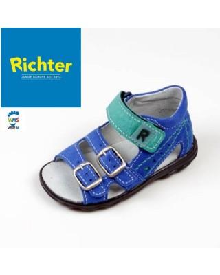 Richter kék-zöld kisfiú szandál