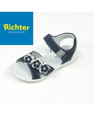 Richter sötétkék lány szandál
