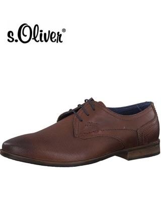 S.Oliver elegáns barna férfi cipő