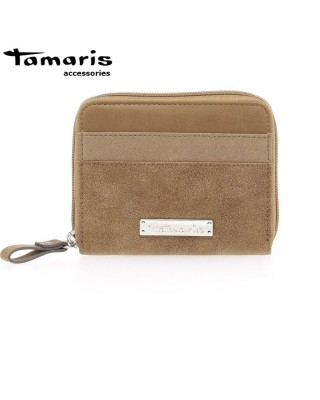 Khema barna Small Zipped Around Wallet