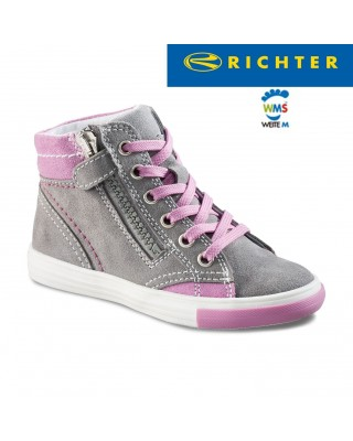 Richter szürke magasszárú cipő