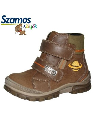 Szamos kölyök bélelt barna cipő