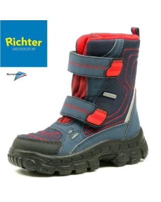 Richter kék-piros hótaposó