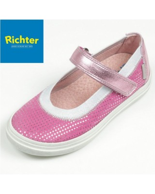 Richter rózsaszín balerina cipő