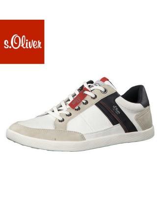 S.Oliver törtfehér férfi cipő