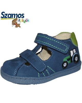 Szamos kölyö kék nyitott cipő
