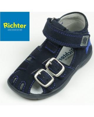 Richter sötétkék zárt szandál