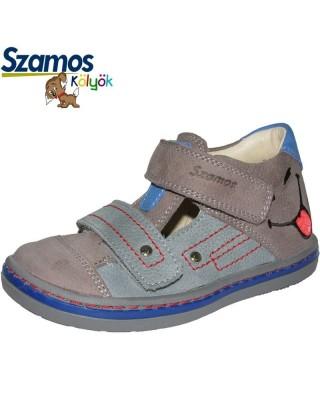 Szamos kölyök szürke nyitott cipő