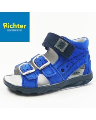 Richter kék kisfiú szandál