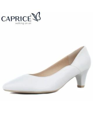CAPRICE fehér magassarkú cipő
